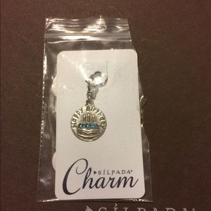 "Silpada Sterling ""Celebrate"" Birthday Cake Charm"